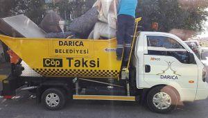 Çöp Taksi Darıca sokaklarında