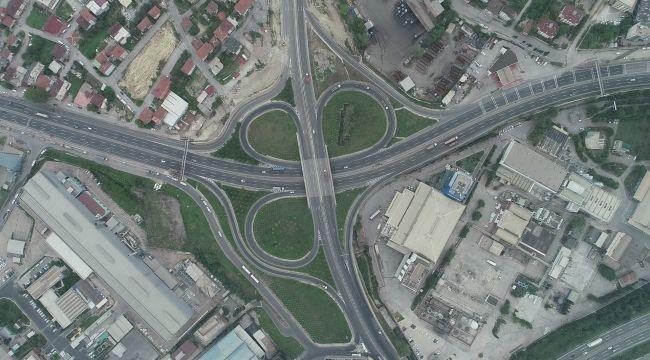 Eynerce Kavşağı ile Yavuz Sultan Selim Caddesi birleşiyor