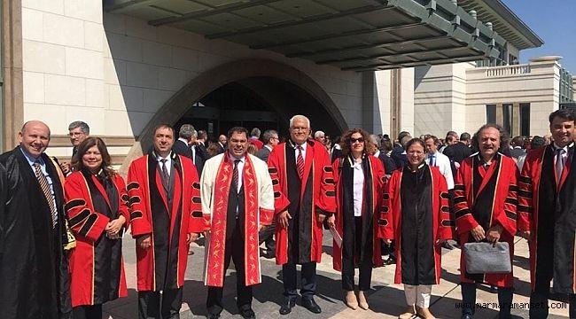 GTÜ yönetimi açılış töreninde