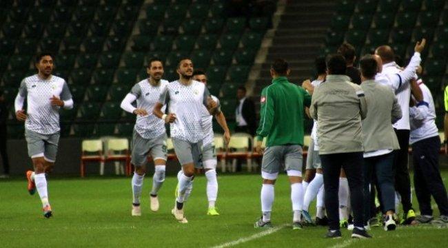 Kocaelispor: 0 - Sivas Belediyespor: 1