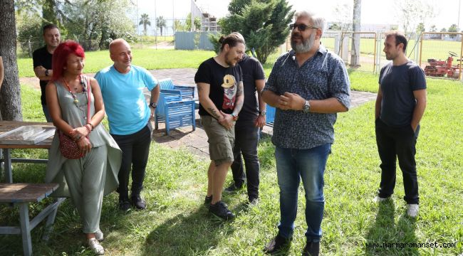 Sigalı'nın ilk ziyareti Kocaelispor'a oldu