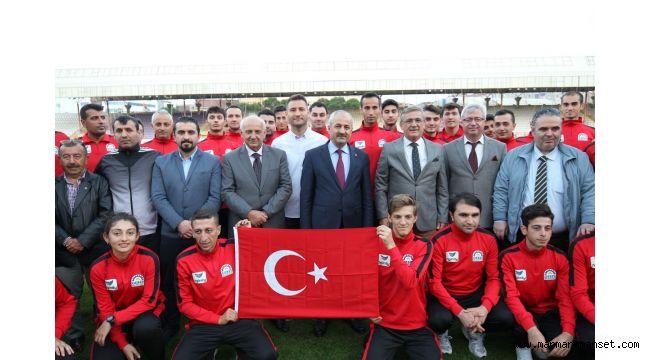 Başkan Büyükgöz'den Amatör Spora Destek