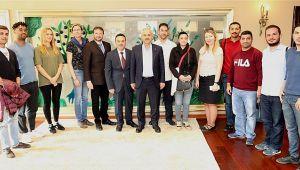 Büyükgöz'e uluslararası misafirler