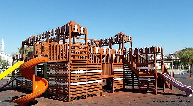 Darıca'da parklar modernleşiyor