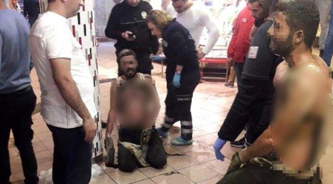 Eşiyle tartışan adam, benzin dökerek kendini yaktı