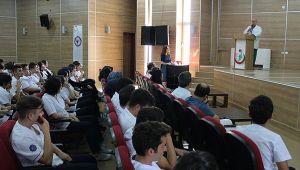 Farabi'de stajyer öğrenciler bilgilendirildi