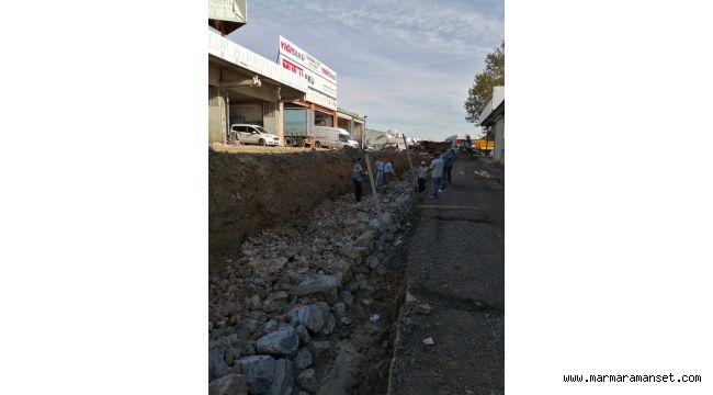 Gebze'de Fen İşleri çalışmalarını sürdürüyor