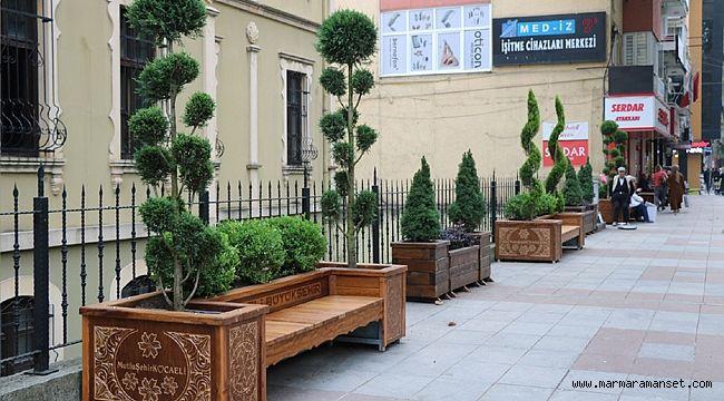 Modern şehir mobilyaları geliyor