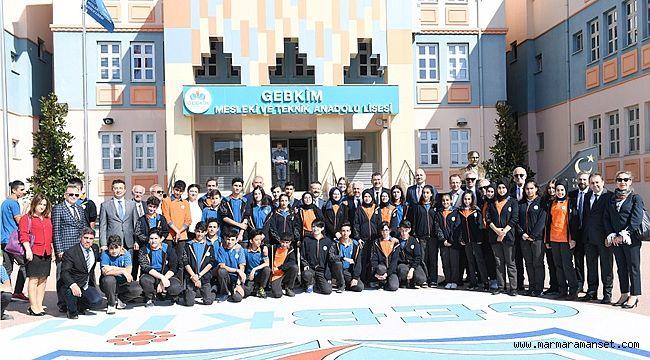 Vali Aksoy'dan GEBKİM MTAL'a ziyaret