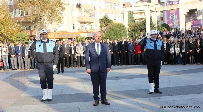 Atatürk Darıca'da saygıyla anıldı