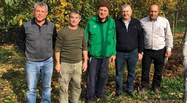 Dilovalı Muhtar'dan, Karaosmanoğlu'na ziyaret