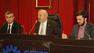 Gebze'de Aralık Meclisi 3 Aralık'ta toplanacak