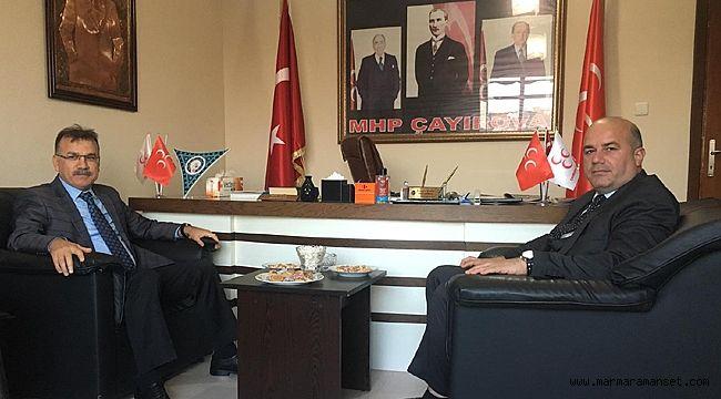 MHP Çayırova, Kaymakam Gözen'i ağırladı