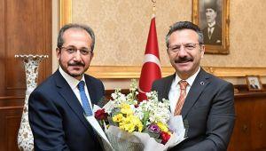 Müftü Cihan'dan Vali Aksoy'a ziyaret