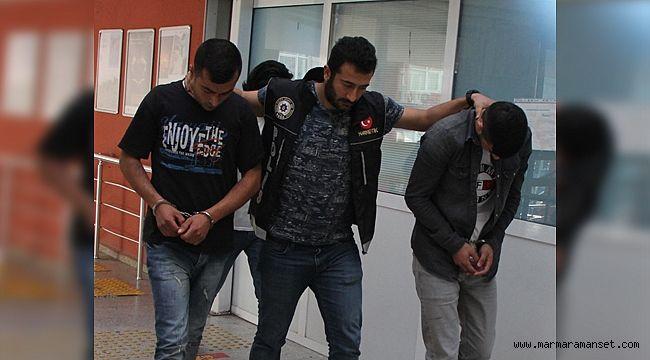 O torbacılar tutuklandı