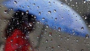Pazartesiden itibaren yağış var