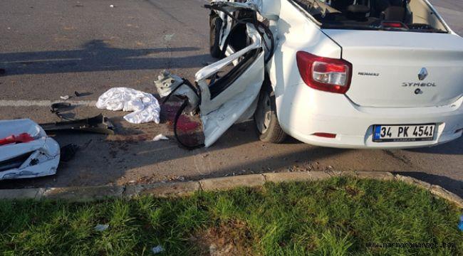 Şekerpınar'da feci kaza: 3 yaralı
