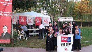 Yeniden Refah, Darıca'da yeni üyeler kazanıyor