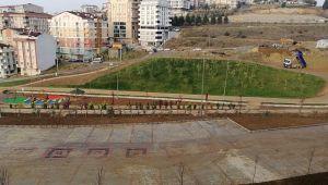 Gebze'nin en büyük parkında sona doğru