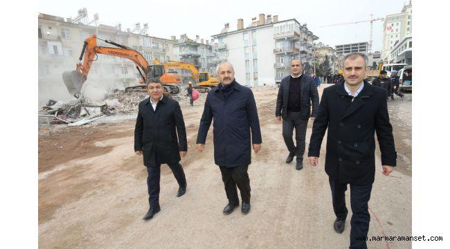 Başkanlar Elazığ'da Ziyaretlerini Sürdürüyor
