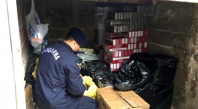Kocaeli'de milyonlarca adet kaçak ürün ele geçirildi
