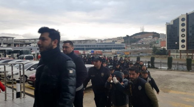 1 milyon TL vurgun yapan çeteye operasyon: 24 gözaltı