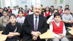 Başkan Büyükgöz Trafik Eğitim Okulu'nda