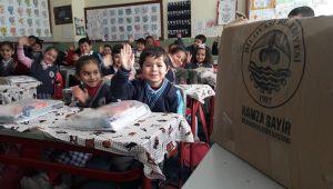 Başkan Şayir, Van'da ki öğrencileri sevindirdi