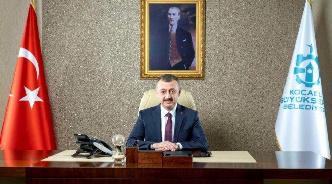Başkan Tahir Büyükakın Türkiye'yi temsil edecek