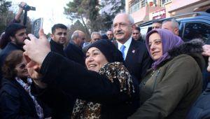 CHP Genel Başkanı Kemal Kılçdaroğlu'ndan ağabeyi ve ablasına ziyaret