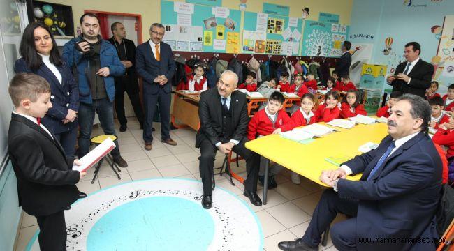 Güler ve Büyükgöz Tiryakioğlu İlkokulu'nda
