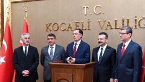 Malkoç, Kocaeli Valiliğini ziyaret etti