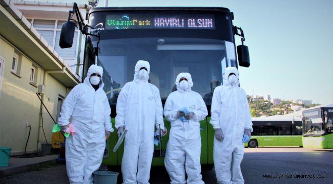 UlaşımPark'tan virüs ve mikroplara izin yok