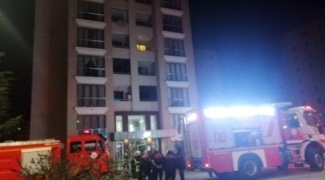 Yangın vatandaşları sokağa döktü
