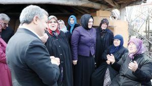 Başkan Şayir'den Köselerde ekmekli kadınlar günü kutlaması