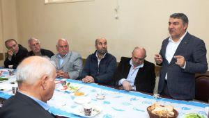 Başkan Şayir, Sarışeyhlilere konuk oldu