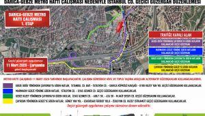 Gebze Belediyesi duyurdu! İstanbul Caddesi trafiğe kapanacak