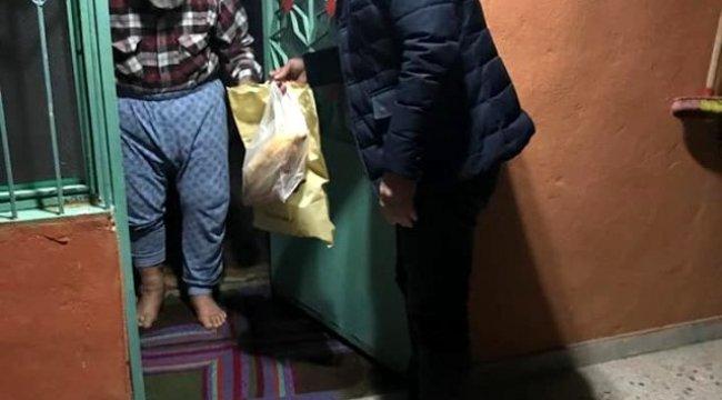 Muhtarlar 65 yaş üstü için Büyükşehirle sahada