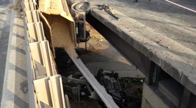 Otoyol Hereke mevkiinde zincirleme trafik kazası: 6 yaralı