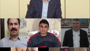 AK Genç Dilovası'ndan videolu 'Evde kal çağrısı