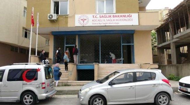 Darıca'da, market çalışanlarına 'Covid-19' testi