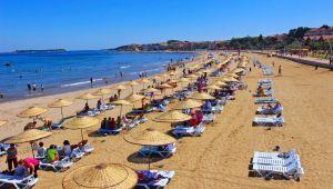 Kocaeli'nin plajlarında 6 Mavi Bayrak