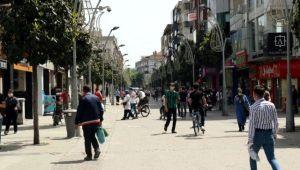 Sakarya'da toplam nüfusun yüzde....