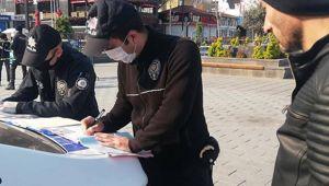 2 günde 491 kişiye ceza yazıldı!