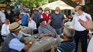 Başkan Bıyık, vatandaşlarla sohbet etti