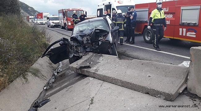 Hereke'de kaza: 3 yaralı