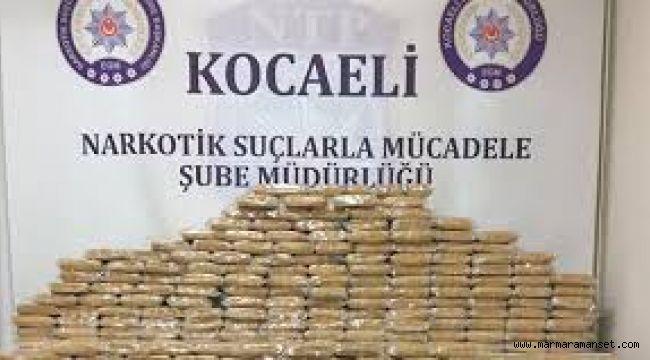 Uyuşturucuyla mücadelede haftalık bilanço