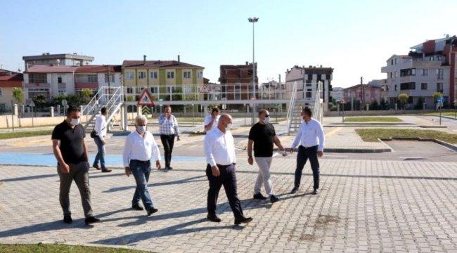 Darıca'da Trafik Eğitim Parkı tamamlanıyor
