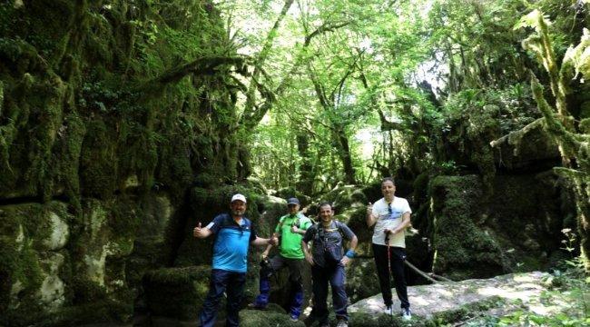 Körfez'in doğal güzellikleri arasında yürüyüş keyfi