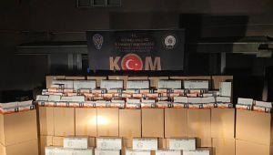Kocaeli'de kaçakçılara büyük darbe!